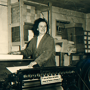 Bild Druckmaschine